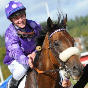 Champion Jockey Oliver WIlson